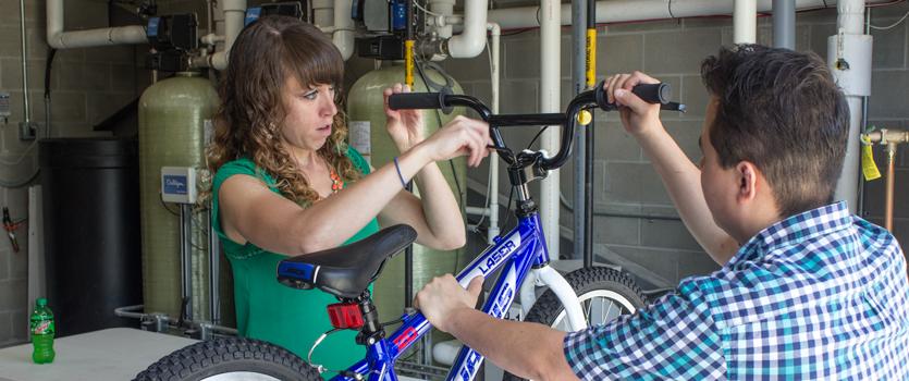 Assembling bike handlebars
